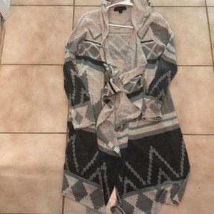 Hoodie cardigan